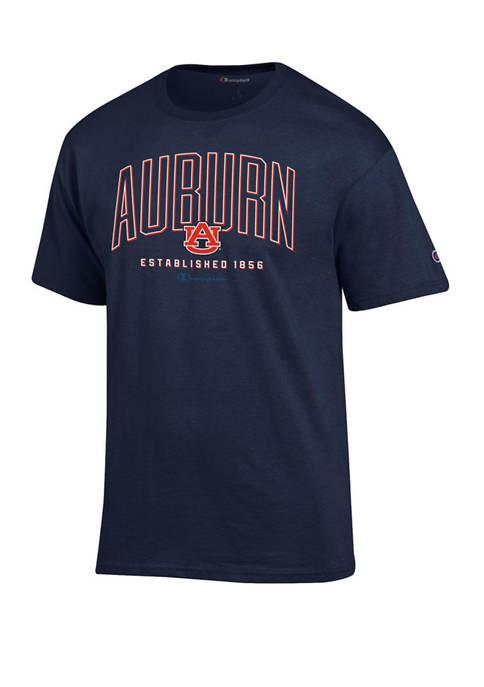 Champion® Mens NCAA Auburn Tigers Wordmark Short Sleeve