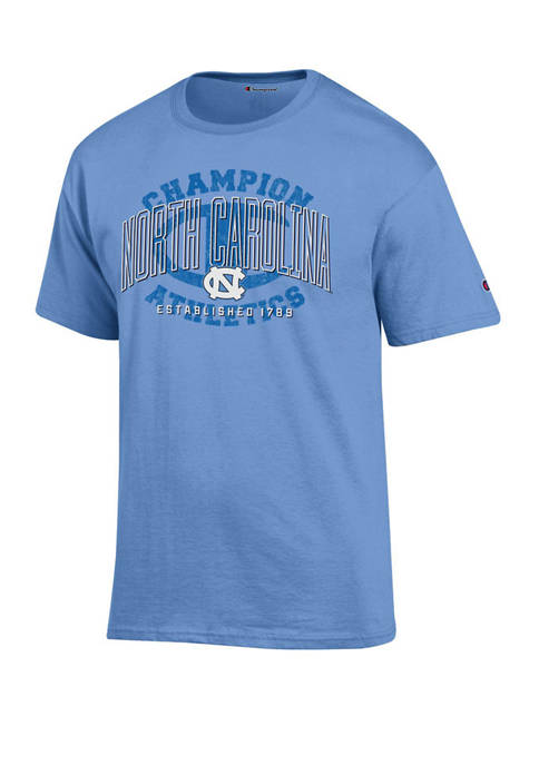 NCAA North Carolina Tar Heels Wordmark Short Sleeve T-Shirt