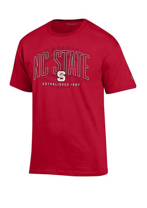 Champion® NCAA NC State Wolfpack Wordmark Short Sleeve