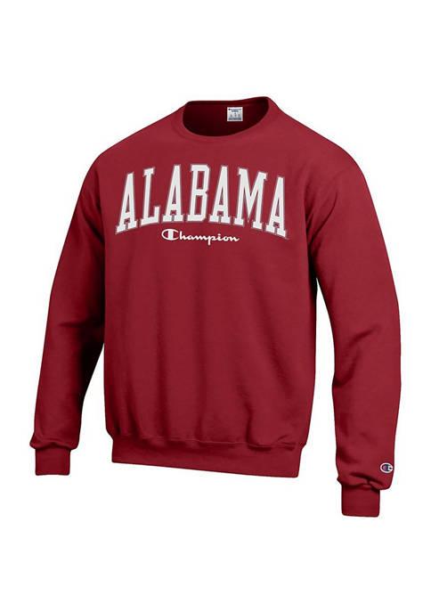 Champion® NCAA Alabama Crimson Tide Powerblend Fleece Pullover