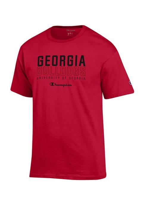 Champion® NCAA Georgia Bulldogs Short Sleeve T-Shirt
