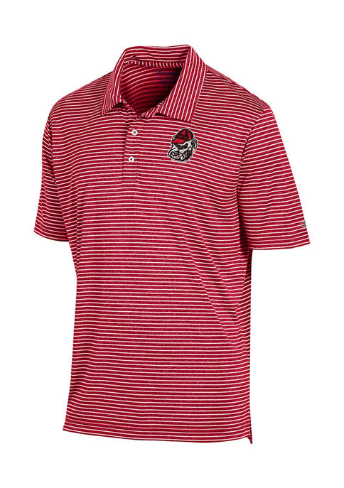 Champion® NCAA Georgia Bulldogs Stadium Stripe Polo Shirt
