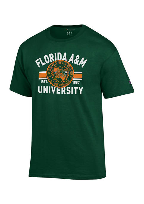 NCAA Florida A&M Rattlers Short Sleeve Graphic T-Shirt