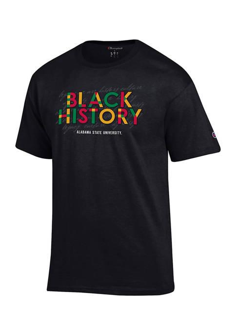 NCAA Alabama State Hornets Short Sleeve Graphic T-Shirt