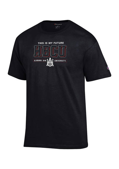 NCAA Alabama A&M Bulldogs Short Sleeve Graphic T-Shirt