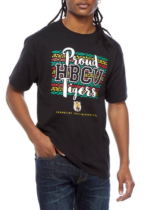 NCAA Grambling State Tigers Short Sleeve Graphic T-Shirt - Black