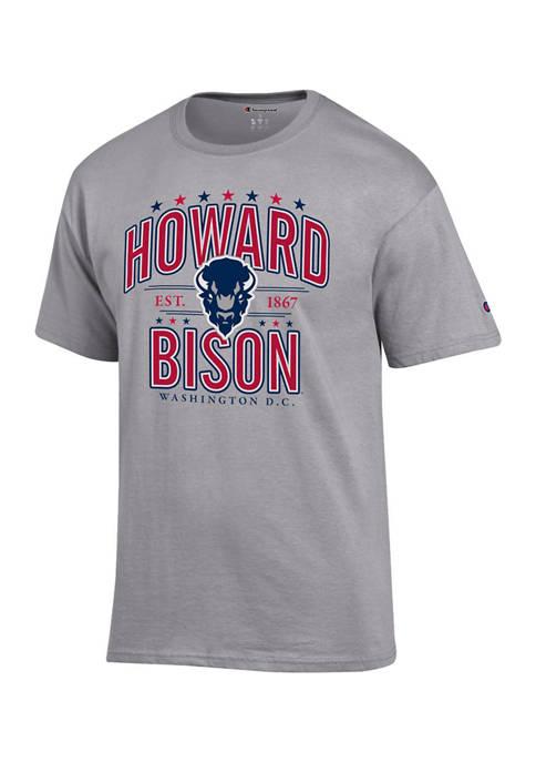 NCAA Howard Bison Short Sleeve Graphic T-Shirt
