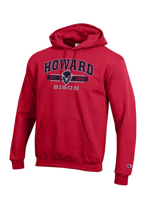 Champion® NCAA Howard Bison Long Sleeve Graphic Hooded