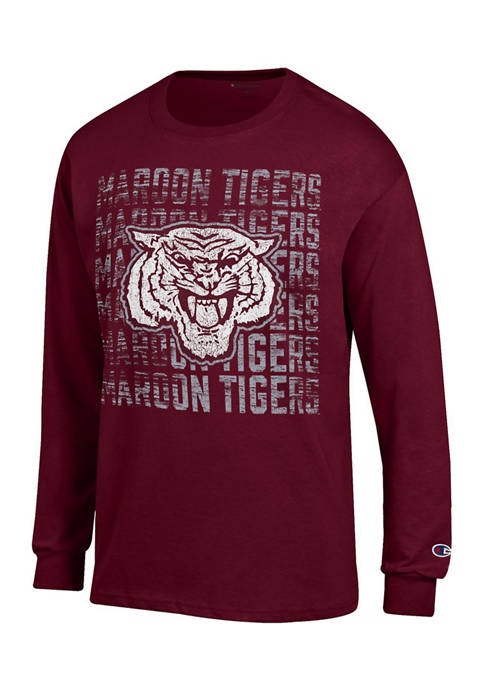 Champion® NCAA Morehouse Maroon Tigers Long Sleeve Graphic