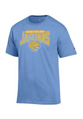 Champion Mens Ncaa Southern Jaguars Short Sleeve Graphic T-Shirt