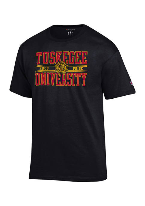 NCAA Tuskegee Golden Tigers Short Sleeve Graphic T-Shirt
