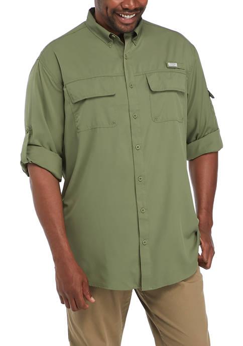 Big & Tall Long Sleeve Fishing Shirt