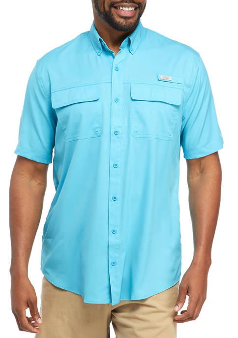 Big & Tall Short Sleeve Fishing Shirt