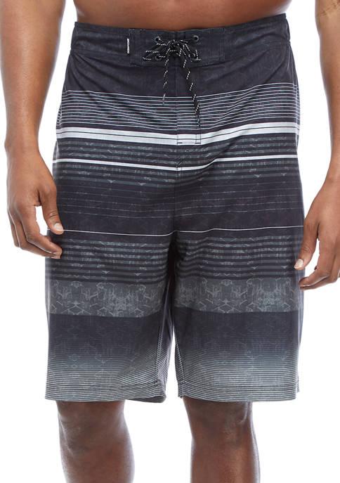 Big & Tall Printed Boardshorts