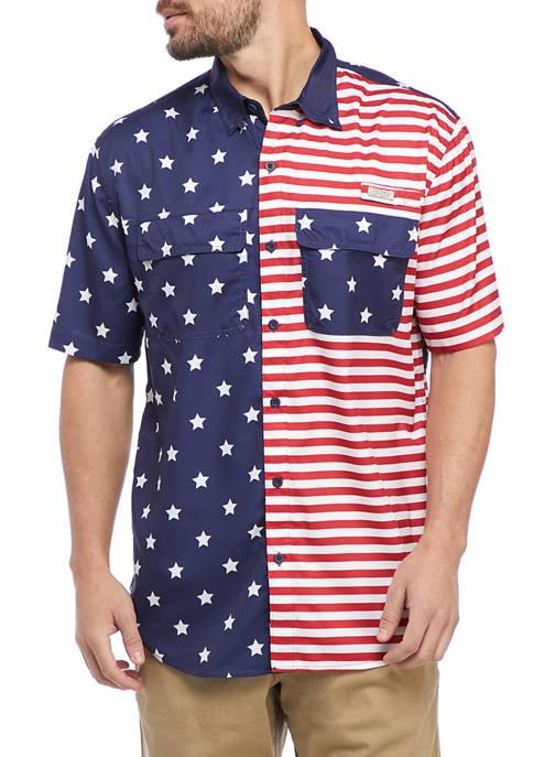 Ocean & Coast® Short Sleeve Americana Fishing Shirt