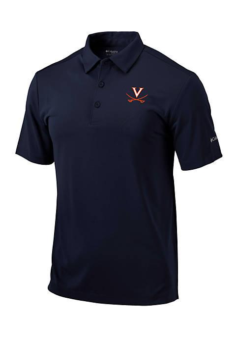Columbia UVA Drive Short Sleeve Polo