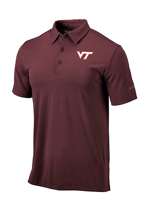 Columbia University of Virginia Drive Short Sleeve Polo