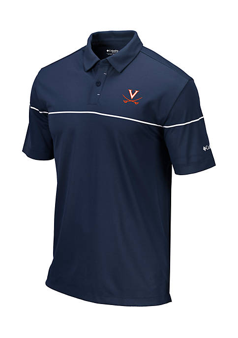 Columbia University of Virginia Omni-Wick Breaker Short Sleeve