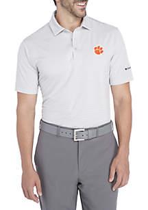 Short Sleeve Clemson Tigers Omni-Wick One Swing Polo