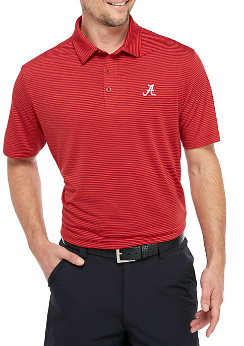 Columbia Alabama Crimson Tide Short Sleeve Polo Shirt