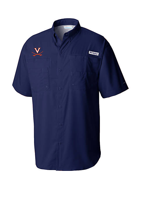 Columbia Virginia Cavaliers PFG Tamiami™ Short Sleeve Shirt