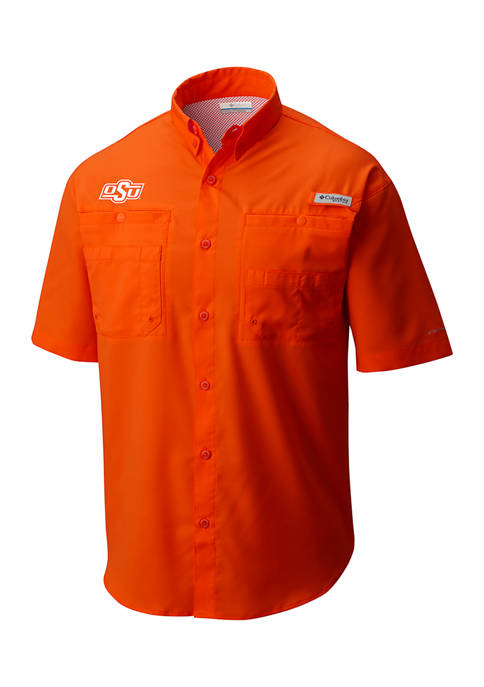 NCAA Oklahoma State Cowboys Short Sleeve Polo Shirt