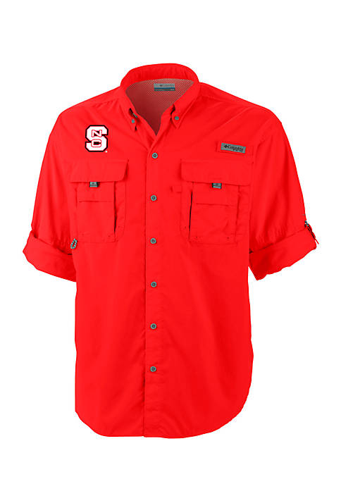 Columbia NC State Bahama II Button Down