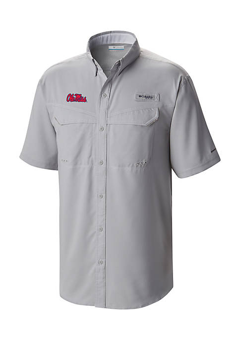 Columbia Short Sleeve Ole Miss Low Drag Off