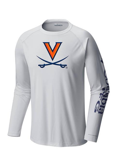 Columbia NCAA University of Virginia Terminal Tackle Shirt