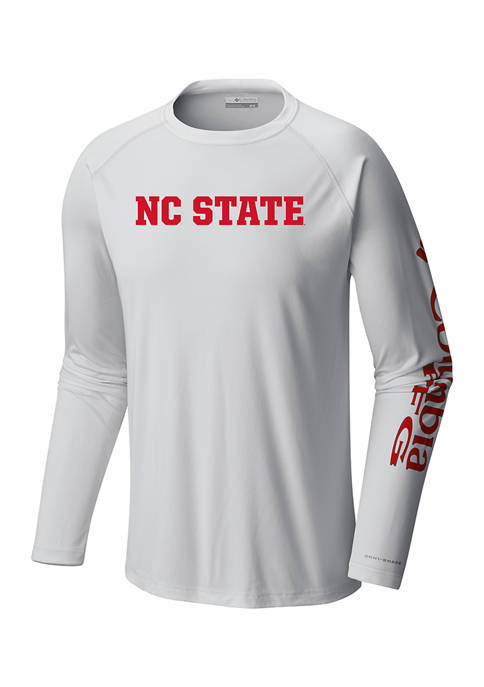 Columbia NCAA NC State University Terminal Tackle Shirt