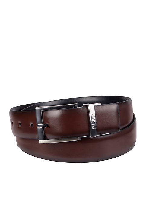 Kenneth Cole Reaction Stretch Feather Edge Belt