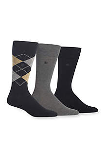 Argyle Socks- 3-Pack