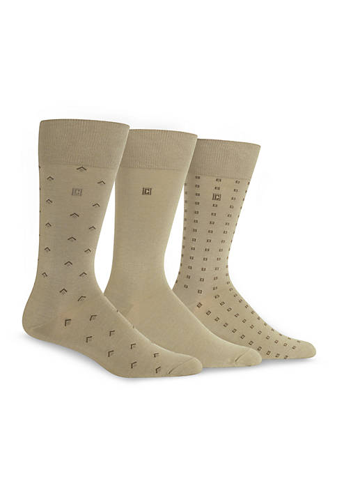Chaps Dress Socks 3-Pack