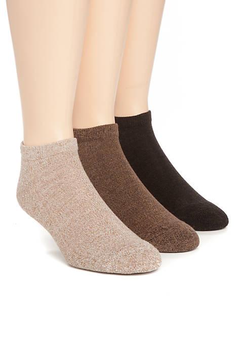 Chaps 3-Pack Low Cut Socks