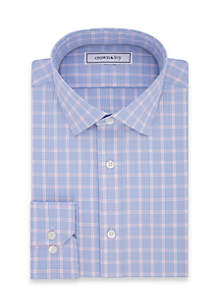 Crown & Ivy Slim Stretch Dress Shirt