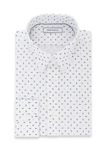 Crown & Ivy Slim Stretch Dress Shirt