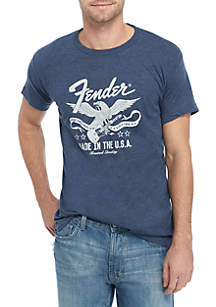 Live Nation Fender Eagle Made In The USA Tee