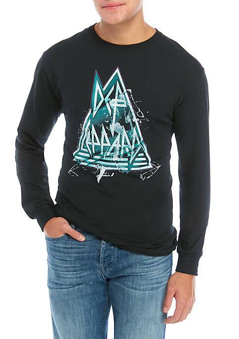 Live Nation Def Leppard Long Sleeve Graphic T-Shirt