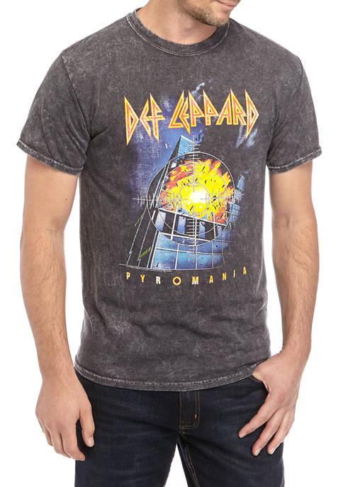 Def Leppard Graphic T-Shirt