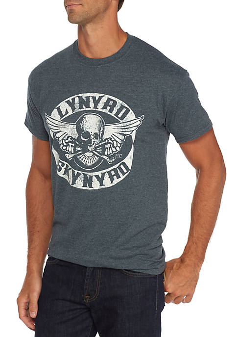Live Nation Short Sleeve Lynyrd Skynyrd Skull Graphic
