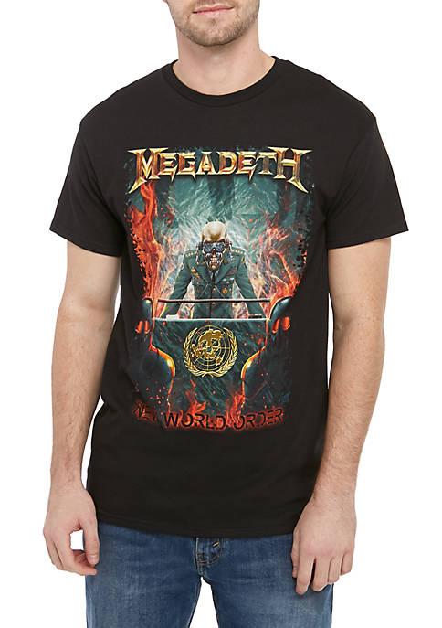 Live Nation Megadeth Graphic T Shirt