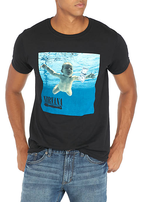 Live Nation Nirvana Baby Swimming Tee