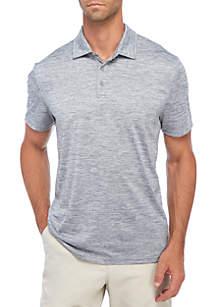 Short Sleeve Flex Space Dye Polo Shirt