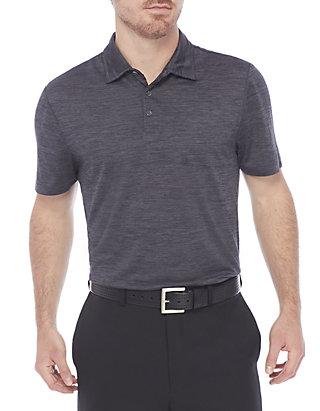4f927199 ZELOS Short Sleeve Flex Space Dye Polo Shirt | belk