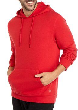ZELOS Men's Fleece Pullover Hoodie