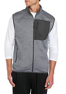 ZELOS Zip Front Vest
