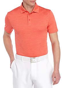 Space Dye Stripe Polo