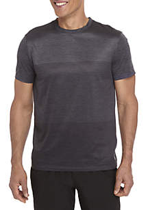 Big & Tall Engineered Stripe Printed Short Sleeve T-Shirt