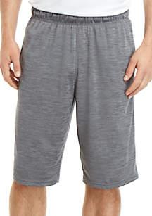 ZELOS Big & Tall Space Dye Gym Shorts