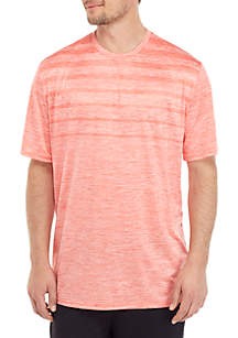 ZELOS Big & Tall Short Sleeve Gradient T Shirt